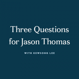Three Questions for Jason Thomas video still