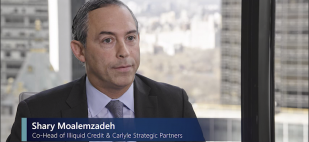 Shary Moalemzadeh, Co-Head of Illiquid Credit & Carlyle Strategic Partners